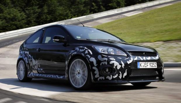 Erste Versuchsfahrten des Ford Focus RS auf dem Nürburgring