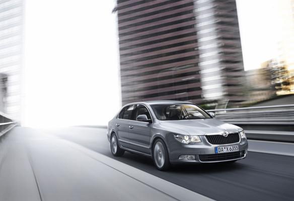 Euro-NCAP: Fünf Sterne und Bestnoten für den Superb