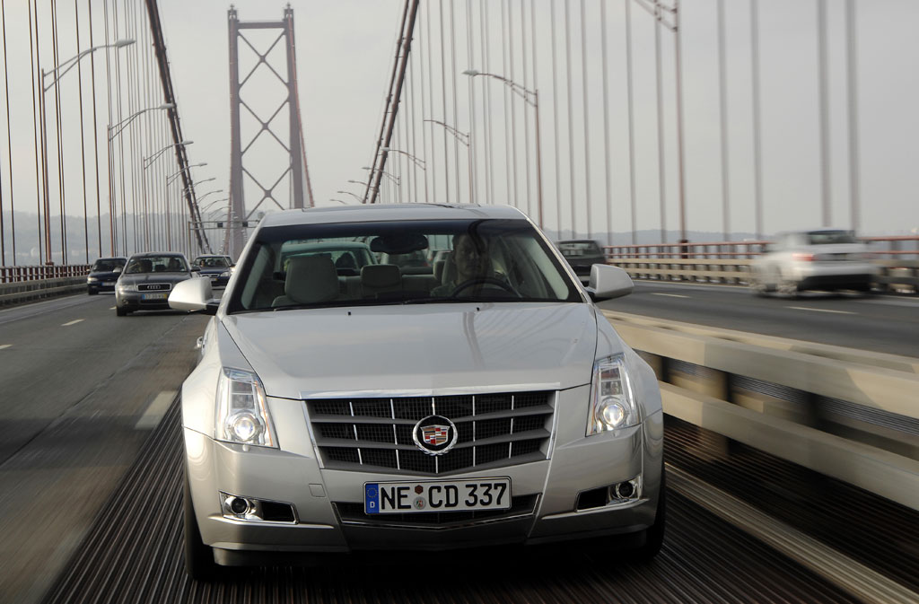 Fahrbericht Cadillac CTS: Welcome in Europe!