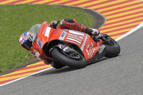 Freude und Enttäuschung bei Ducati: Auch bei Melandri wäre was drin gewesen