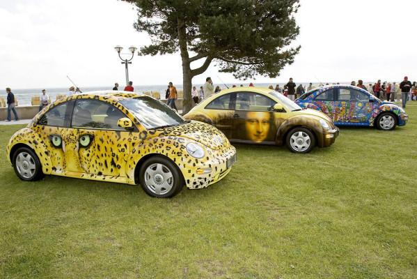 Geburtstagsparty für VW New Beetle
