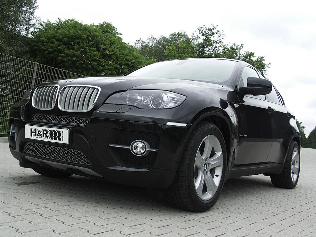 H&R BMW X6: Crossover mit Sport und Komfort