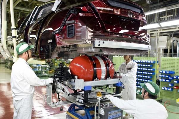 Honda nimmt Produktion des FCX Clarity auf