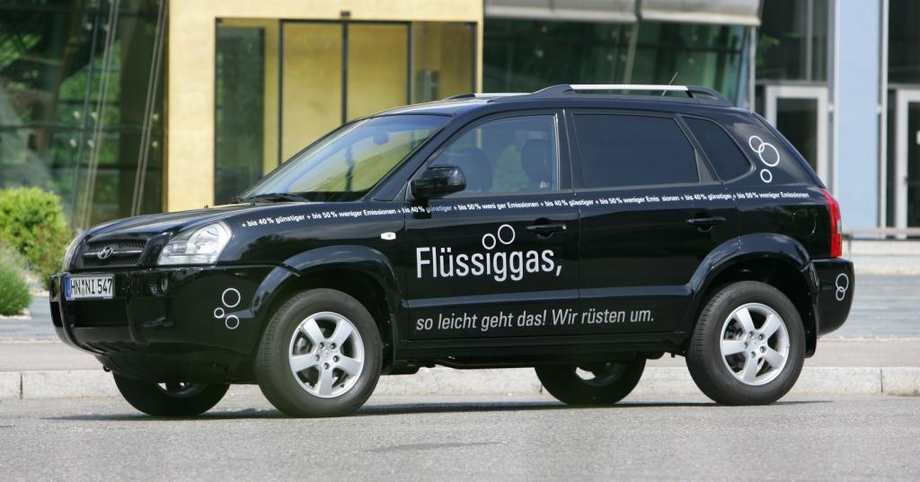 Hyundai bietet den Tucson mit Flüssiggas an