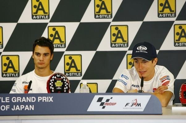 Kein neuer Motor für Pedrosa und Hayden: Auf die Renn-Arbeit konzentrieren