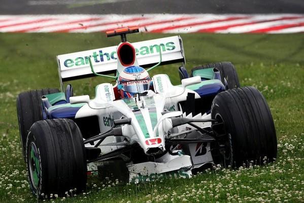 Kleine Steigerung bei Honda: Der einzige Ausfall im Rennen traf Button