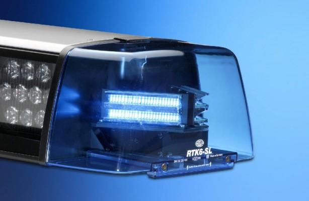 LED-Blaulicht für die Polizei