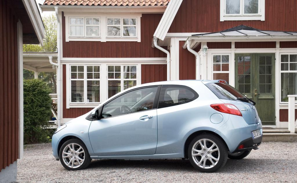 Mazda2: Drei Türen für mehr Sportlichkeit