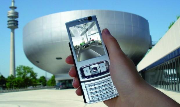 Mit dem Handy ins BMW-Museum