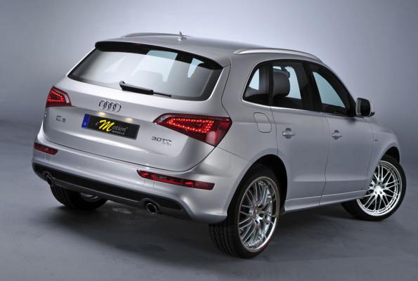 Nachgeschärft: Audis Q5 mit Wasabi Rädern von Emotion-Wheels