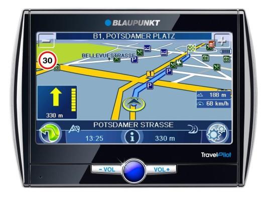 Neues mobiles Navigationsgerät von Blaupunkt mit vielen Funktionen