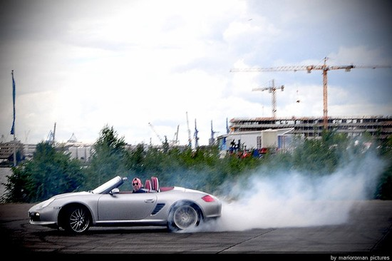 Nummer 17 on Stage – Porsche Boxster RS 60 Spyder