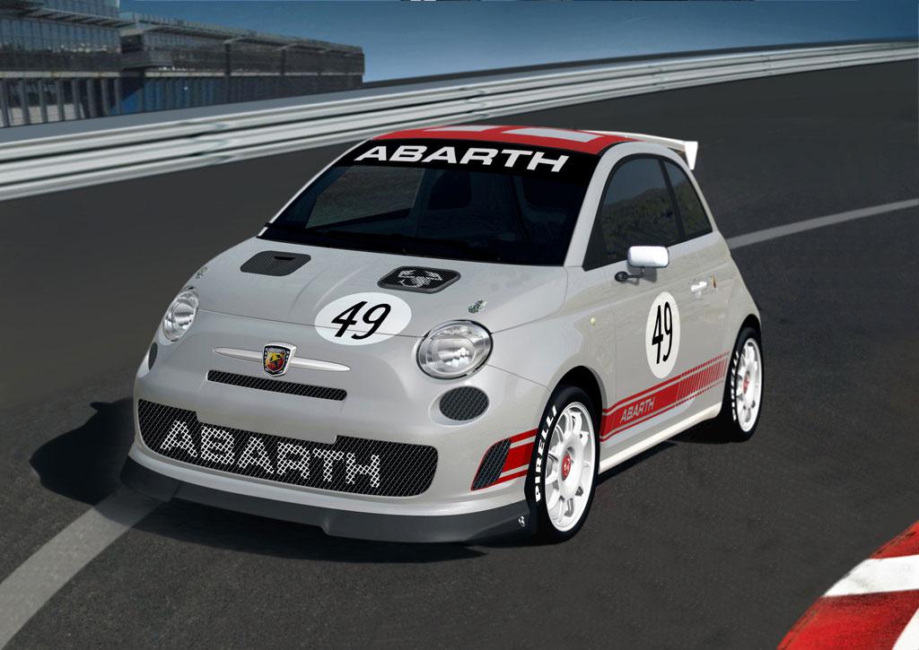 Nur für den Motorsport: 500 Abarth Assetto Corse