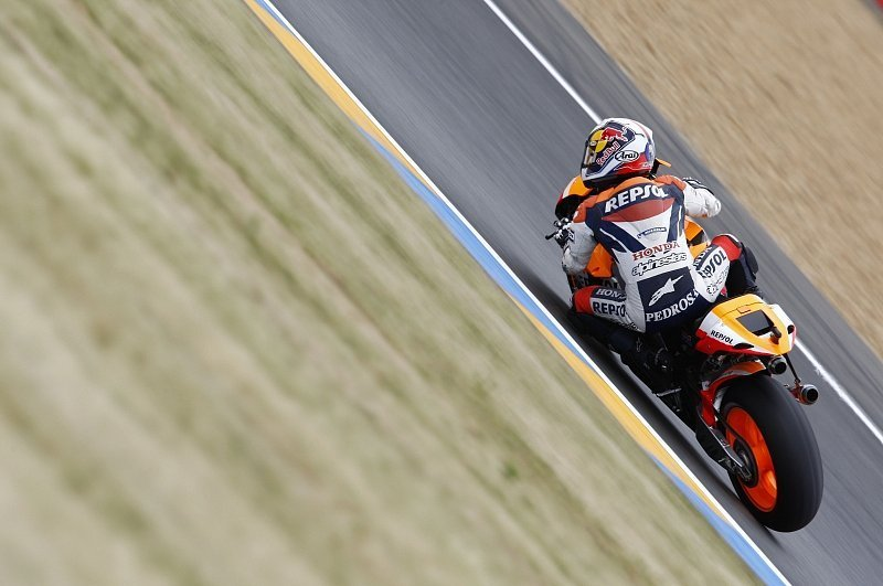 Pedrosa legt vor: Rossi im Spanien-Sandwich