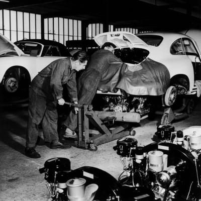 Porsche wird 60 Jahre alt