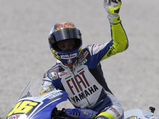 Rossi bleibt König von Mugello: Eine Sondervorstellung