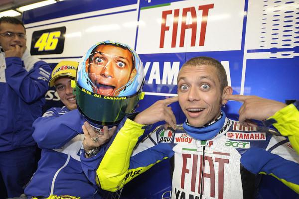 Rossi im Fußball-Fieber: Eine Idee von Yamaha