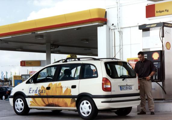 Steigende Nachfrage nach Autos mit Gasantrieb