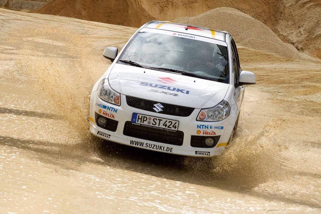 """Suzuki SX4 als Sondermodell """"WRC"""""""