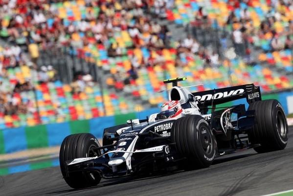 Williams war zu langsam: Zu viel Verkehr
