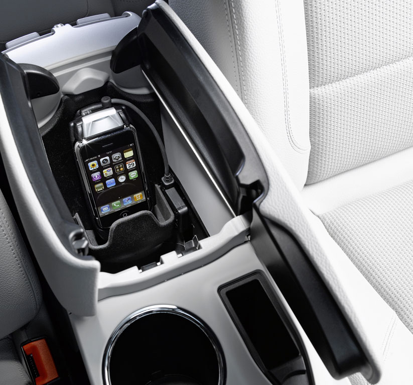 iPhone-Adapter bei Mercedes