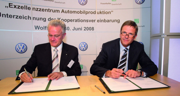 ''Exzellenzzentrum Automobilproduktion'' gegründet