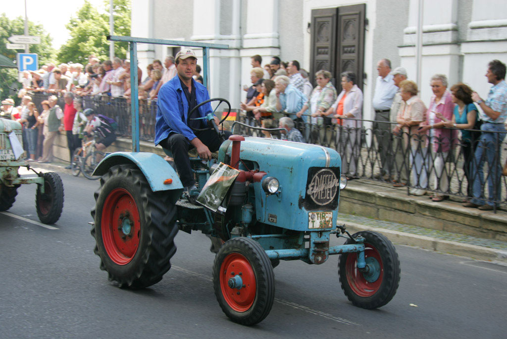 1. Traktor & Oldtimer - Treffen in Fuchsmühl vom 29.Juni