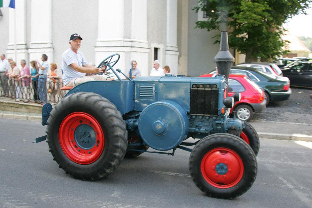 1. Traktor und Oldtimer - Treffen in Fuchsmühl vom 29.Juni