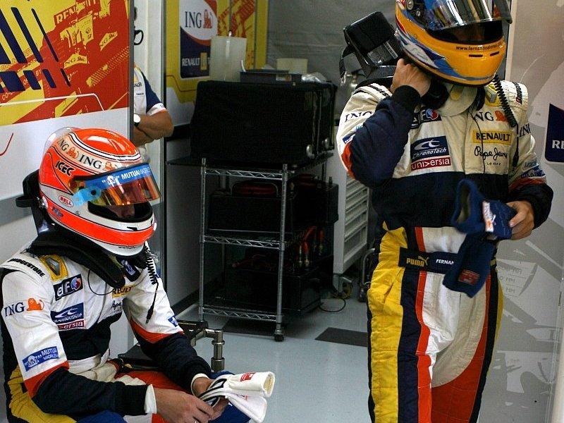 Alonso über Piquets Podium: Er hatte nur Glück
