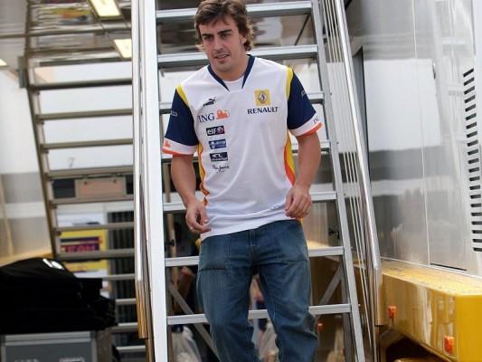 Alonso klagt über Traktion: Probleme sind beunruhigend