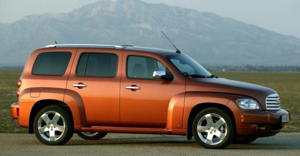 Chevrolet HHR unterstützen Markteinführung eines neuen Erfrischungsgetränks
