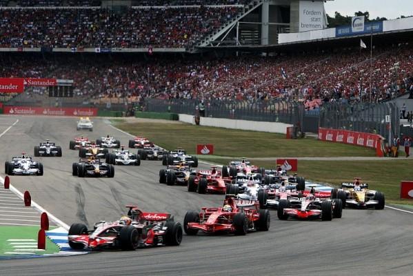 Deutschland GP: Hamilton dominiert