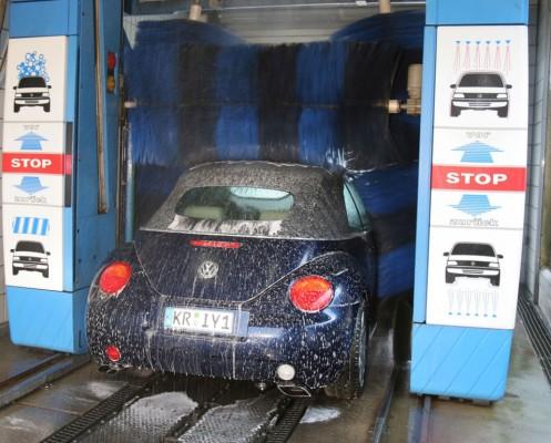 Fahrzeug-Sicherheit nur mit Sauberkeit