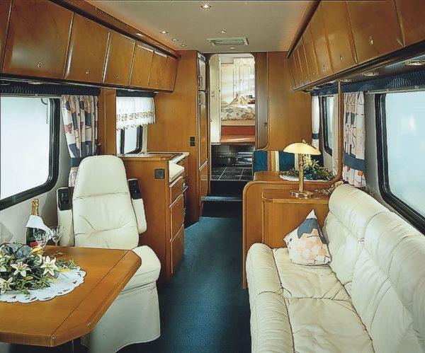 Luxusmodelle von Variomobil auf dem Caravan Salon