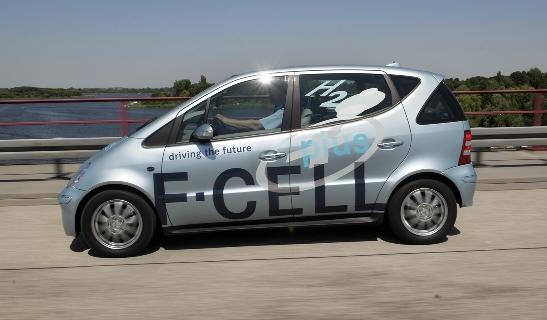 Mercedes-Benz erhöht Reichweite der Brennstoffzelle