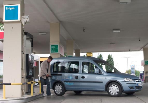 Nachfrage nach Erdgas-Autos steigt