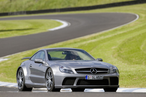 Neue Top-Version des Mercedes SL AMG