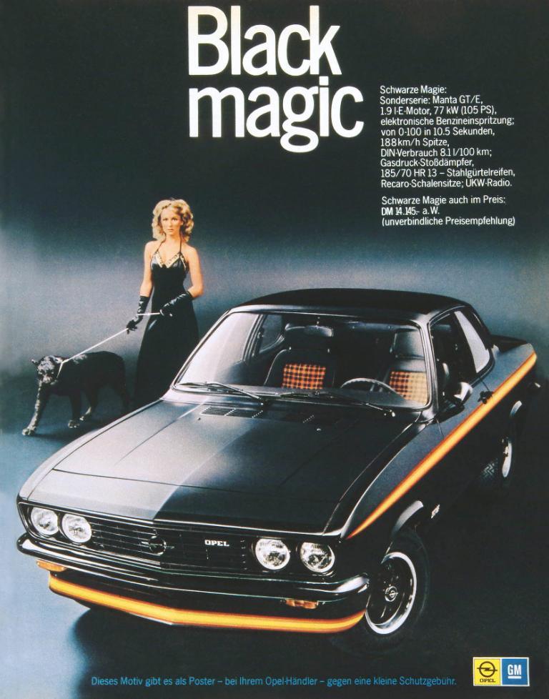 Opel Manta CC wird 30 Jahre