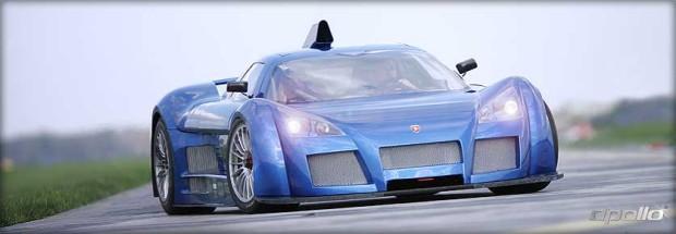 Rekordfahrt: GUMPERT apollo bei Top Gear