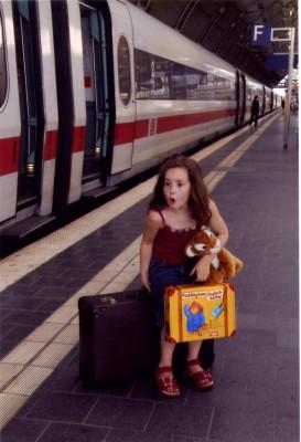 Richtige Blickrichtung verhindert Reiseübelkeit bei Kindern