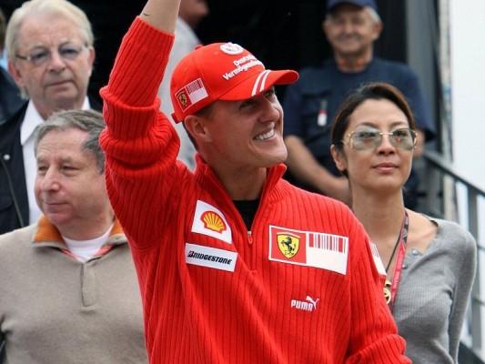 Schumacher genießt die Freiheit: Lieber im Hintergrund wirken