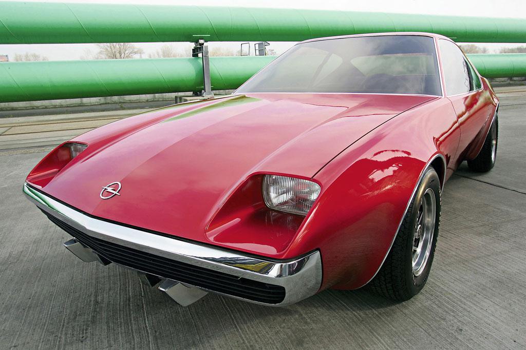 Sportwagen-Entwurf für den Opel Manta B