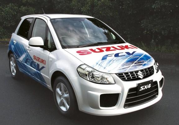Suzuki präsentiert Brennstoffzellen SX4