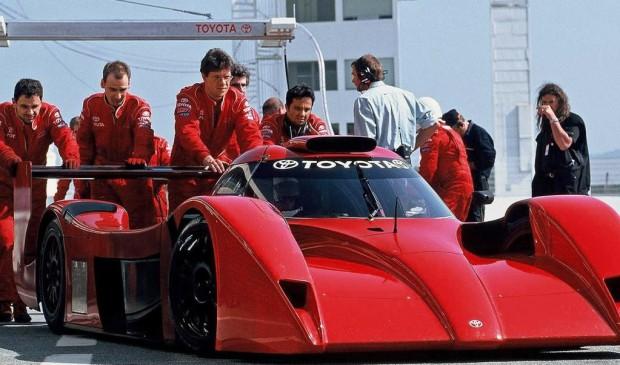 Toyota zeigt Rennsport-Schätze beim AvD-Oldtimer-Grand-Prix