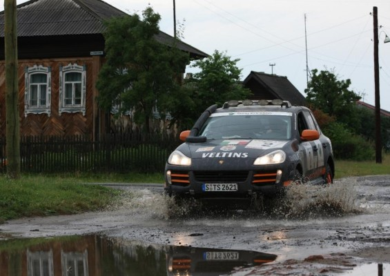 Transsyberia-Rallye 2008:  4. Etappe ausgefallen
