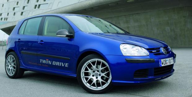 VW Golf Twin Drive: ''Flottenversuch Elektromobilität''