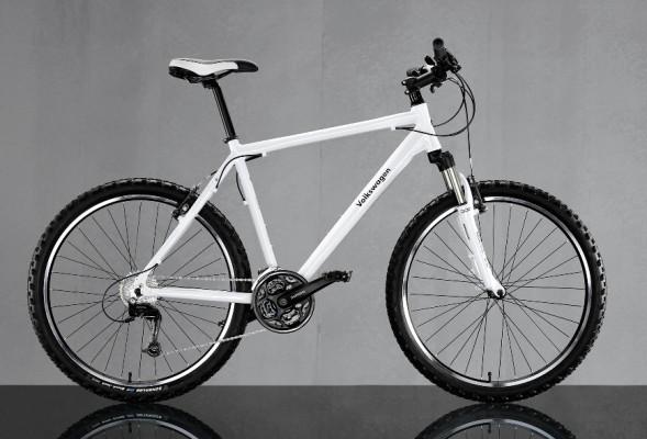 Volkswagen Zubehör bietet Fahrräder an