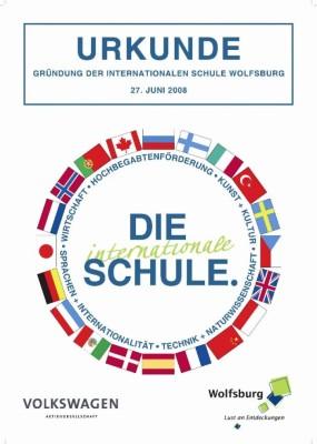 Volkswagen kündigt zum 70. Stadtgeburtstag eine internationale Schule für Wolfsburg an