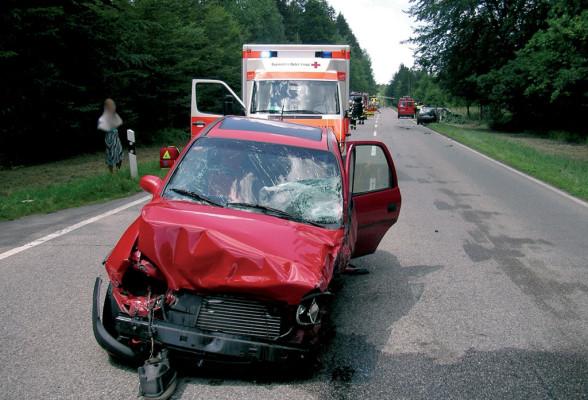 Vollbesetztes Auto ist sicherer