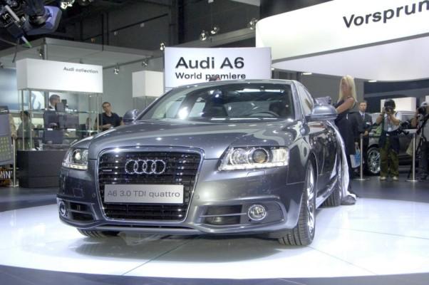 Überarbeiteter Audi A6 in Moskau vorgestellt